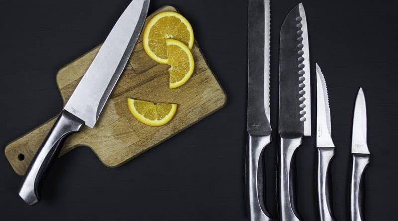 Sharp knives, kitchen tips and tricks