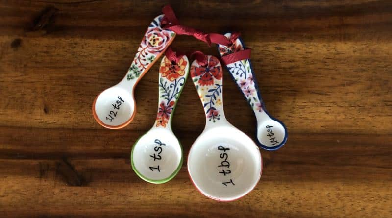 Measuring Spoons, kitchen tips and tricks