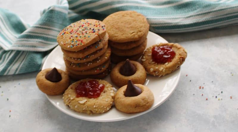 Holiday Cookies 4 Ways